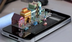 iPhone Diorama