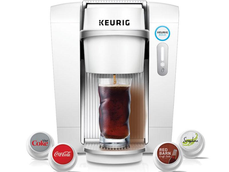 Keurig Kold: Fabricar Coca-Cola en tu casa