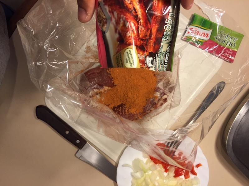 Receta de cerdo a la barbacoa con la bolsa para horno de Knorr