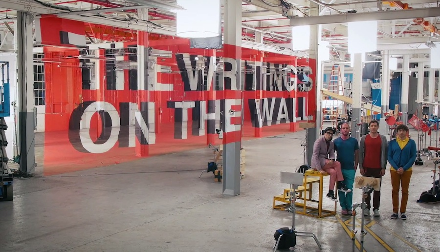 The writing's on the wall, el nuevo video de OK GO
