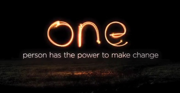 One person has the power to make change
