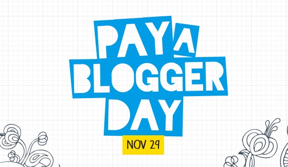 Pay a blogger day