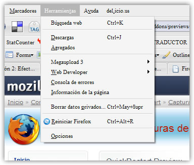 Reiniciar Firefox cuando quieras