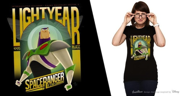 Remera Buzz Lightyear de Franco Spagnolo