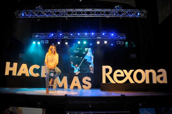 Rexona: Hac ms, Luciana Aymar