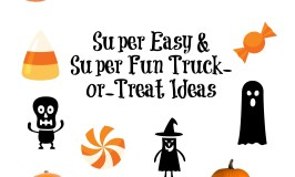 Super Easy & Super Fun Trunk-or-Treat Ideas