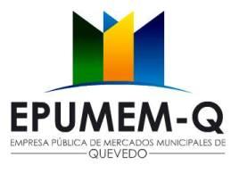 Empresa Pública Municipal de Mercados de Quevedohttp://www.quevedo.gob.ec/actividades-en-temporada-de-sanvaletin-y-carnaval/
