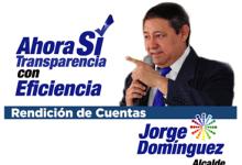 Rendición de Cuentas 2015 Alcalde Jorge Domínguez
