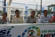 Alcalde Jorge Domínguez inaugura cancha  de usos múltiples en sector Los Ángeles