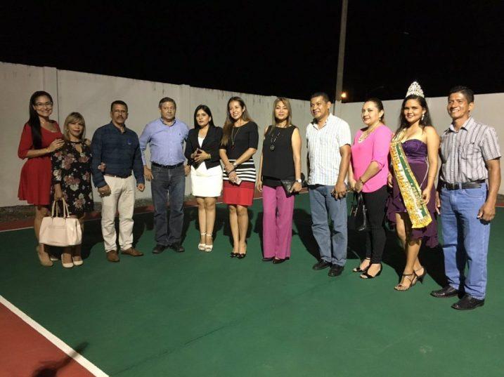 foto 7 - inauguran coliseo en La Esperanza
