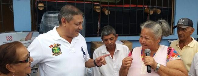 Municipio abastece al Centro Gerontológico  con insumos médicos y con  implementos