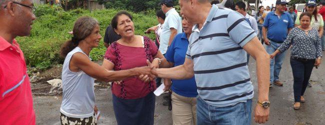 La parroquia Siete de Octubre contará con nuevas calles asfaltadas