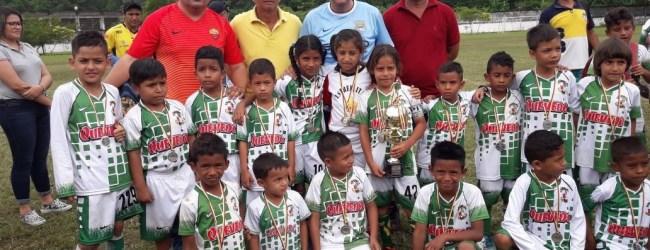 Escuela Municipal de Fútbol destaca en campeonato intercantonal