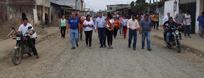 """Alcalde Jorge Domínguez:   """"Había una marginalidad tremenda en San Cristóbal"""""""