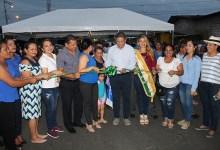 Inauguran asfaltado, aceras y bordillos en parroquia La Esperanza