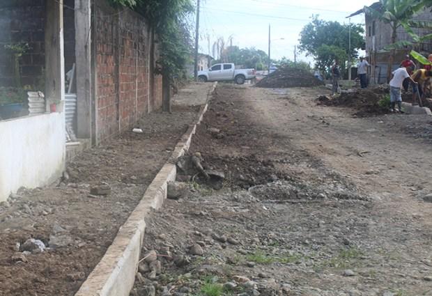 La obra municipal llega a la Cooperativa de Vivienda 23 de Marzo en San Carlos