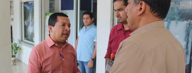 """Alcalde John Salcedo Cantos """"Es lamentable lo que ha sucedido en los últimos años con la celda emergente"""""""