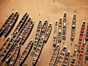 Village de pêcheurs de Soumbedioune près de Dakar