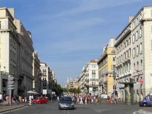 La Canebière, l'avenue la plus célèbre de Marseille