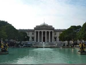 La belle entrée du Palais de Justice