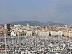 Le Vieux Port de Marseille du depuis le Fort Saint-Nicolas