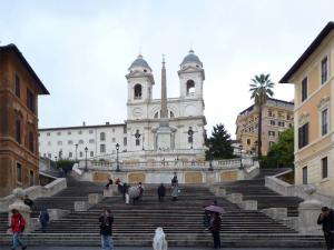 L'escalier de la Piazza di Spagna