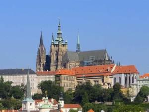La Cathédrale Saint-Guy dans la Troisième Cour du Hradčany