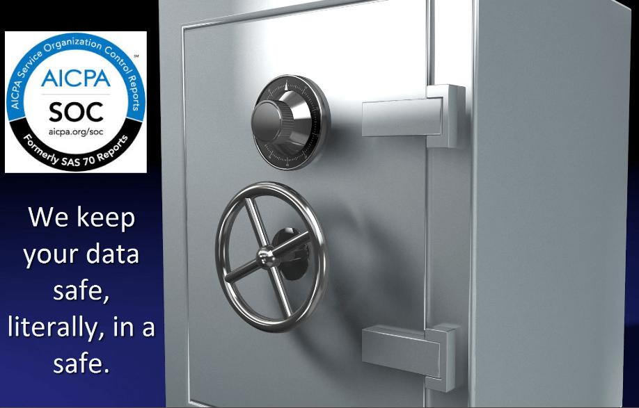 QSP HIPAA compliant safe security data storage