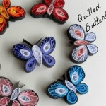 How to Make Paper Quilled Butterflies