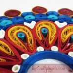 Paper Quilled Mandala Wall Hanging Tutorial