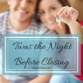 'Twas the Night Before We Bought Our House…