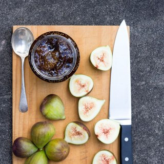 Fig, balsamic and vanilla jam.