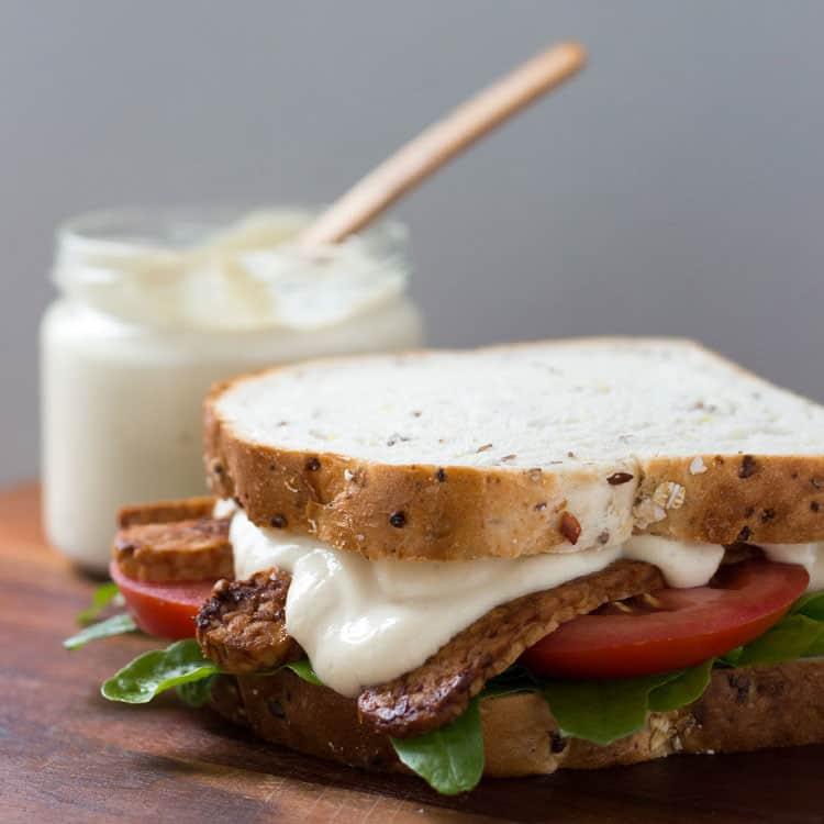 Easy vegan mayonnaise