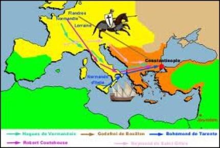 Comment s'appelait le pape qui fut l'instigateur de la première croisade ?