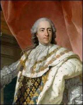 """Louis XV (le """"Bien-aimé"""") était le fils de Louis XIV."""