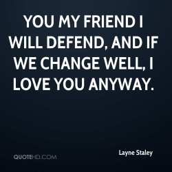 Small Of I Love You My Friend
