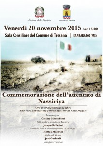 Commemorazione Nassirya