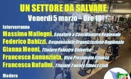 """""""PALESTRE, UN SETTORE DA SALVARE"""" - Incontro online di Forza Italia Toscana con imprenditori del settore"""