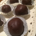 """To-Die For!"" Chocolate-Covered Home-Made Peanut-Butter Balls"
