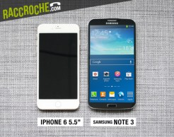 Comparation iPhone 6 et Samsung Note 3