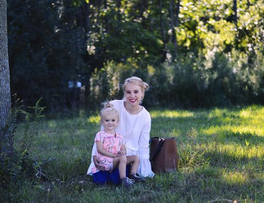 Transitioning from only child to older sibling by Rachael Burgess