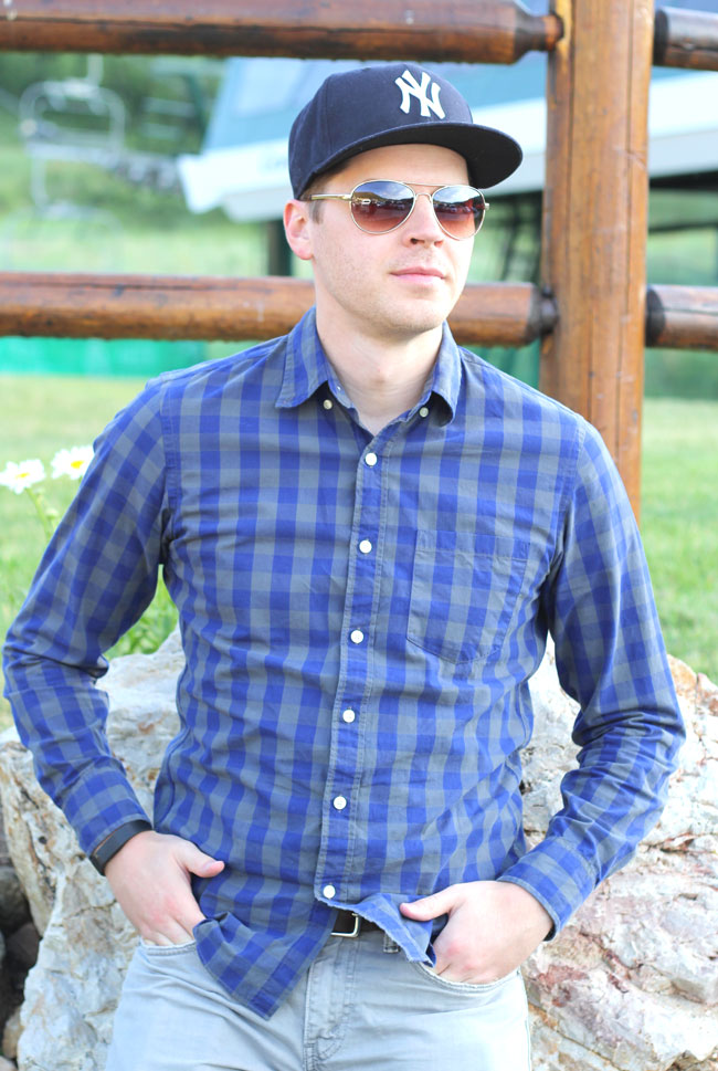 J.crew-button-up