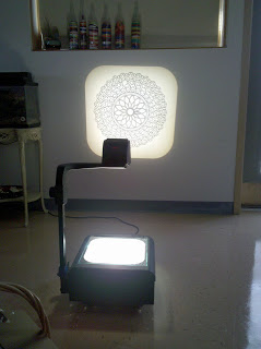 tracing, ohp, overhead projector