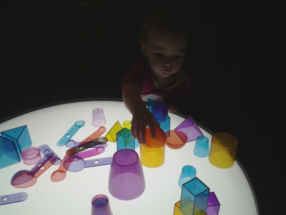 light table, reggio