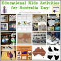 Educational Kids Activities for Australia Day via Racheous - Lovable Learning