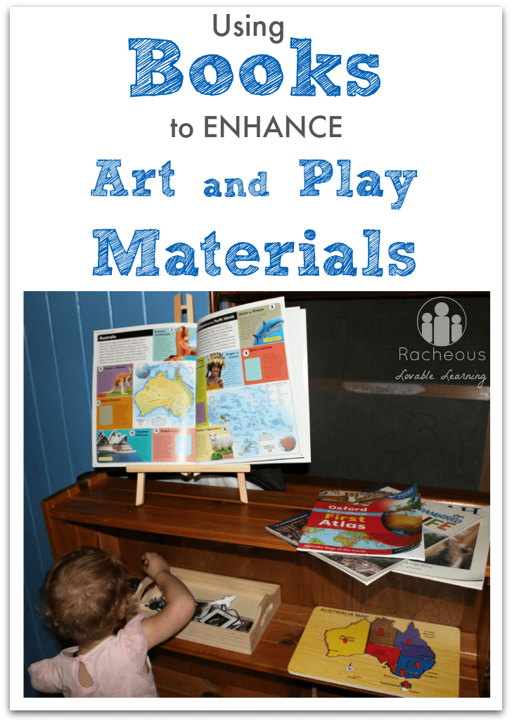 Using Books to Enhance Art and Play Materials