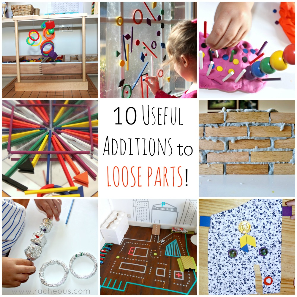 10 Useful Additions to Loose Parts
