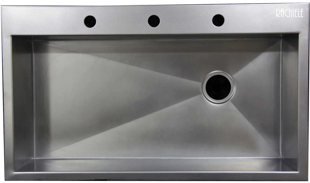 stainless sinks topMount replacing a kitchen sink Top mount single bowl kitchen sink replacing a double bowl