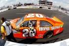 2012_Pocono_June_NASCAR_Sprint_Cup_Series_Race_Joey_Logano_Checkered_Flag