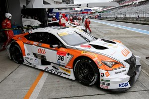 Super GT Fuji Pre-Season Test 2016 au TOM's RC F